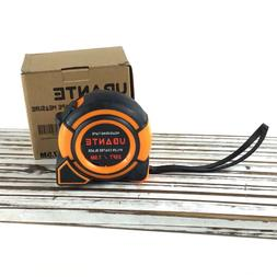 UBANTE Orange Measuring Tape Measure 1-Inch x 25-Foot Retrac