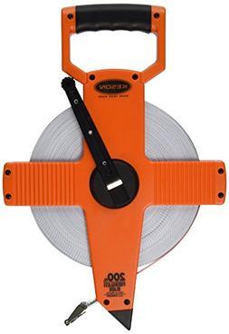 KESON OTR-10-200 Long Tape Measure, 1/2 Inx200 ft, Pumpkin