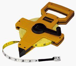 KESON OTR-18-100 Long Tape Measure, 1/2 Inx100 ft, Pumpkin