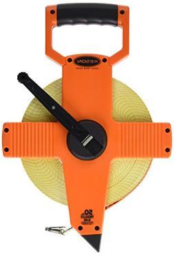 Keson OTR50MM Open Reel Fiberglass Tape Measure Reel , 50-Me