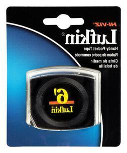 Lufkin Pee Wee Pocket Measuring Tape, 6ft