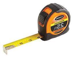 "KESON PGPRO1825V 25 ft. Tape Measure, 1"" Blade, Orange/Black"