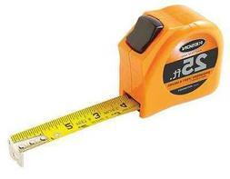 "KESON PGT181025V 25 ft. Tape Measure, 1"" Blade, Orange"