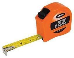 Keson Pgt181033v 33 Ft Engineer's Tape Measure, 1 In Blade