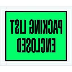 "Aviditi PL404 Poly Envelope, Legend""PACKING LIST ENCLOSED"","