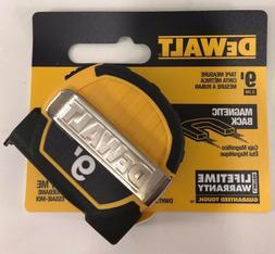 DEWALT 9 ft. Pocket Tape Measure with magnetic back