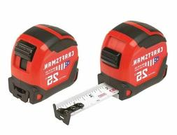 CRAFTSMAN PRO 2-Pack 25-ft Tape Measure MADE IN USA