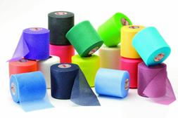 Mueller Rainbow Pack of Sports Pre-Wrap , 30 Yards, Rainbow