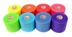 Mueller Rainbow Pack of Sports Pre-Wrap ,30 Yards,Rainbow