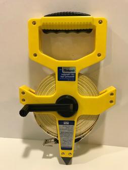 "Reel Tape Measures - 1/2""x100' open reel fiberglass tape"