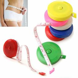 Retractable Body Measuring Ruler Sewing Cloth Tailor Tape Me