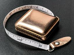 "Rose Gold Tape Measure 150 cm/60"" Retractable 253RGDB"