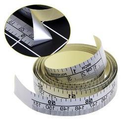 Self-Adhesive 150cmMetric Measure Tape Vinyl Ruler Sewing Ma