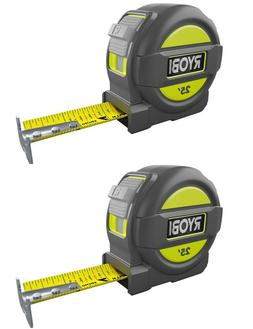 Komelon Self-lock Measuring Tape Nylon Covered Steel Jobsite