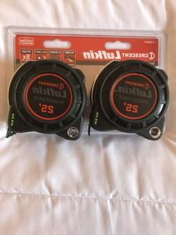 Lufkin - Shockforce Nite Eye Tape Measure - 2 pack, 25'