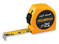 "Komelon USA SM3925 1"" X 25' Fractional Tape Measure"