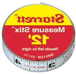 L.S. Starrett 681-63170 Sm412W .50 in. X12 in. Measure