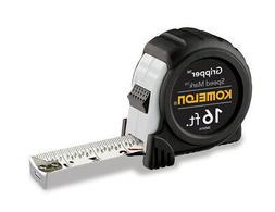Komelon SM5416 16ft. x 1in. Speed Mark Gripper Tape Measure