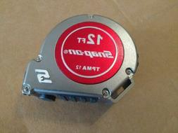 Snap on tape measure 12ft TPMA12 tools measuring tape BRAND