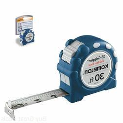 Komelon SS130 Stainless Steel Gripper 1 Inch X 30 Ft Measuri