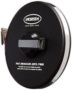Keson ST10018M Closed-Metal Housing Steel Tape Measures , 10