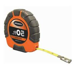 KESON ST10503X Long Tape Measure, 3/8 In x 50 ft, Orange