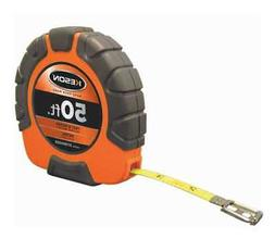 """KESON ST18M503X 50 ft./15M Long Tape Measure, 3/8"""" Blade, Or"""