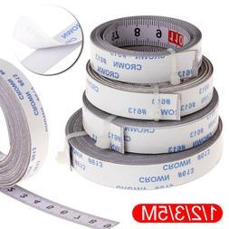 Stainless Steel Miter Track Tape Measure Self Adhesive Metri