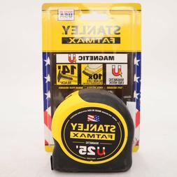 Stanley Fat Max Magnetic Tape Measure 25 ft Measuring Tool R