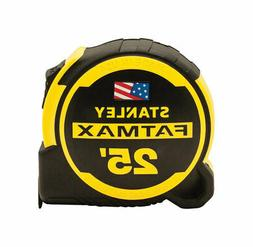Stanley  Fatmax  25 ft. L x 1.25 in. W Compact  Tape Measure