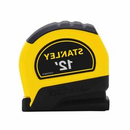 Stanley Tools STHT30810 12ft. Lever Lock Tape Measure, Yello