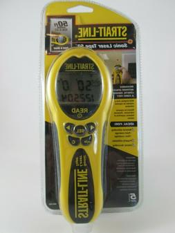 Strait-Line 50 ft. Sonic Laser Tape Measure Brand New Sealed