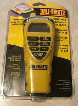 Strait-Line Sonic Laser Tape Measure 50 Feet - NEW