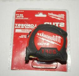 Milwaukee Stud Tape Measure 48-22-9925 Measuring Layout Work