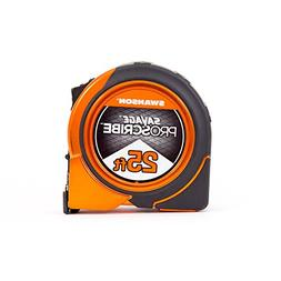Swanson Tool SVPS25M1 25 in. Magnetic ProScribe Tape Measure