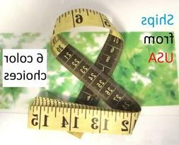 """Tailor Diet Sewing Measuring Tape Measure Soft Ruler 60"""" & 1"""
