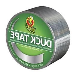 Duck Tape Colored Duct Tape, 1.88 in x 15 yd, Silver Coin