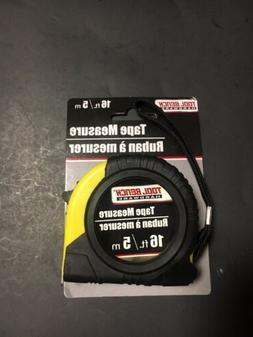 Tape Measure 16 Feet Tool Bench Hardware Yellow/Black Plasti
