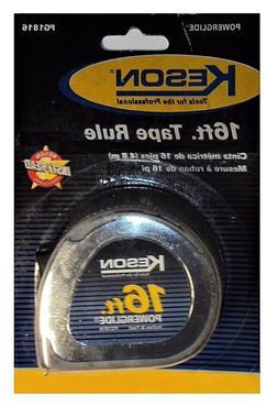 "KESON Tape Measure 16' x 3/4"" Nylon Coated Steel Blade CHN P"