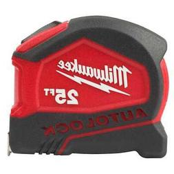 MILWAUKEE TAPE MEASURE 25 Ft Heavy Duty Compact Auto Lock Jo