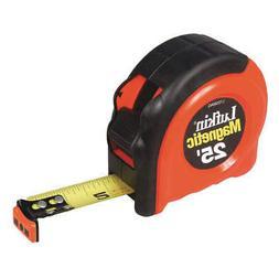 CRESCENT LUFKIN Tape Measure,25 ft.,Magnetic Hook, L725MAG
