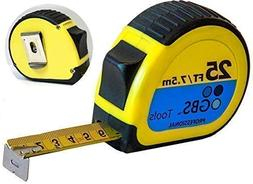 Retractable Measuring Tape Measure in Metric and Inches By G