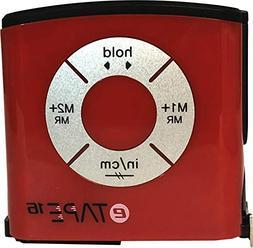 eTape16 Digital Tape Measure, 16 Feet, Inch and Metric - Red