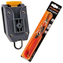 Komelon Tape Measure Belt Holder Quick Draw Safety Code Rope
