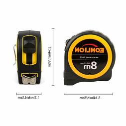 Tape Measure Metric/Inches Power Locking Tape Measure 8m/26f
