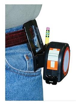 Tape Measure Pants Belt Clip w/ Pencil Holder Heavy Duty Dai