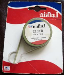 """LUFKIN  TAPE MEASURE REFILL  #RY212  1/2"""" x 12'  NOS"""