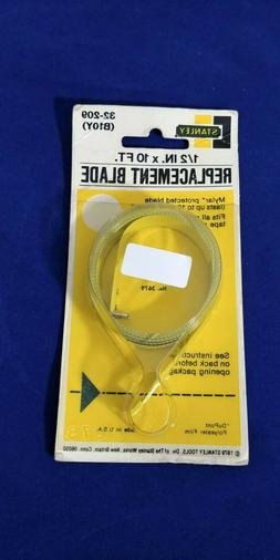 """STANLEY TAPE MEASURE REPLACEMENT BLADE 1/2"""" X 10', # 32-209,"""