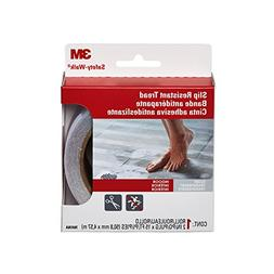 3M Safety-Walk Tub and Shower Tread, Clear, 2-Inch by 180-In