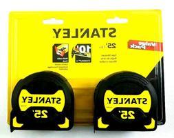 "Stanley STHT33596 1-1/8"" X 25'  Yellow / Black Tape Measure"